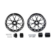 18and039and039 Front And Rear Wheel Rims Hub Fit For Harley Road King Street Glide 2008-2021
