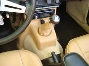 Triumph Tr6 Leather Console Dash Support Cover And Shift Boot Combo