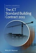 Jct Standard Building Contract 2011 An Explanation And By David Chappell New