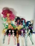 Monster High Doll And Furniture Lot 11 Dolls Read Description