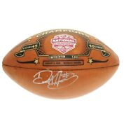 Derrick Henry Signed College Football Playoff Commemorative Leather Football-psa