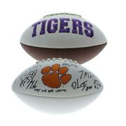 Clemson Tigers 2018 Natl. Champions Signed W/p Football Jsa Authentic