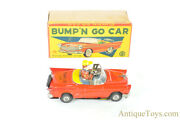 """Ko Tin Lithographed Friction """"bump 'n Go Car"""" Mystery Action Japanese Toy"""
