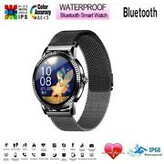 Touch Screen Smartwatch Fitness Watch For Women Men With Android Iphone Ios
