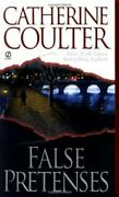 False Pretenses Contemporary Romantic Thriller By Catherine Coulter Excellent