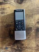 Olympusvn-8100pc Digital Voice Recorder Black And Silver Working