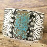 Sunshine Leaves Number 8 Turquoise Bangle New Silver 925