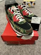 Size 11 - Nike Air Max 90 Premium X Atmos Duck Camo 2013 100 Authentic Vnds