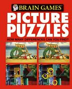 Brain Games - Picture Puzzles 1 How Many Differences Can By Editors Of New