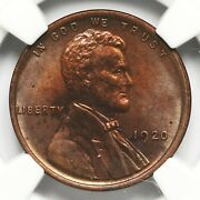 1920 Wheat Penny Ngc Unc Details Altered Color