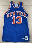 New York Knicks Mark Jackson 80and039s Game Used Nba Basketball Jersey Authentic