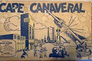 Rare Vintage 1960s Marx Cape Canaveral Playset Near Perfect Condition.