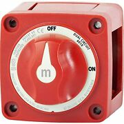 Blue Sea Systems Battery Switch M-series Dual Circuit 6010