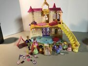 Disney Sofia The First Magical Talking Castle Play Set W/ Figures And Accesori