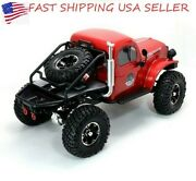 Rc Crawler With Flip Up Body Shell And Battery And Charger Rst Power Wagon