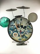 Vintage Mickey Mouse Club Drumset 5634