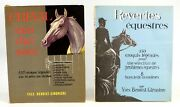 Yves Benoist - Gironiere - 2 Illustrated Vols - Horse Care - French Text Signed
