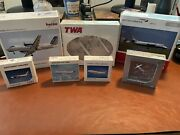 Herpa Wings Lot. Twa, Southwest, Boeing, And More