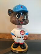 Very Rare Vintage Sports Specialties Japan Chicago Cubs Mlb Bobblehead