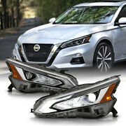 [high Beam Assist] For 19-21 Altima Full Led Projector Headlights Headlamp Pair