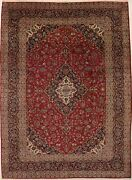 Semi Antique Extra-large 10x14 Hand Knotted Oriental Area Rug Home Floor Carpet