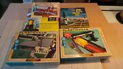 Huge Model Train Lot Ho Scale Engines Cars Track Switches Buildings Scenery++