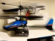 Collectible Xieda Super Uncommon 9998 Blue Thunder Helicopter Rc W/ Box