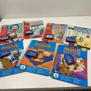 Leapfrog Leap Pad Learning Books And Cartridges Lot Of 7 Reading Math Writing