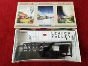Walthers Lehigh Valley Covered Hopper Ps-2cd 4427 Lv 51115 Ho Scale Kit Sealed