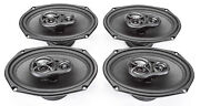 New Skar Audio 6x9/6x9 Complete Speaker Package For 2009-2014 Jeep Compass