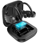 Wireless Earbuds Bluetooth Headphones 5.0 Mic In Ear Sport Earphones For Android