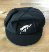 Player Issued - New Zealand National Team Baggy Test Cricket Cap - C1980-90s