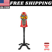 15 Vintage Candy Gumball Machine And Bank With Stand By Great Northern Popcorn