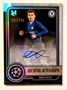 2019-20 Topps Museum Collection Uefa Mason Mount Rookie Archival Auto Sp /250 Rc