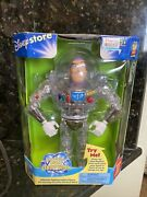 Toy Story Rare Thinkway Interstellar Clear Buzz Lightyear Talking Action New
