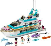 Lego Friends 41015 Dolphin Cruiser 100 Complete W/ Manual And Minifigures