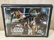 Vintage Star Wars Carrying Case With Sticker Sheet And Insert