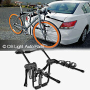 Bike Rack Carrier Trunk Mount 3 Bicycle Holder Car Attachment Storage Fit Volvo