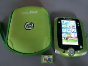 Leap Pad 2 Bundle Green With Case And Toy Story 3 Game