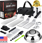 Griddle Accessories Kit 15 Pcs Flat-top Grilling,stainless Steel Bbq Outdoor