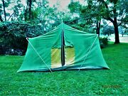 Sears Vintage Cabin Camping Tent 13 X 10 ..1960s Era