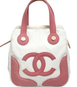 Rare Marshmallow Tote Mini Pink 50421 Free Shipping From Japan
