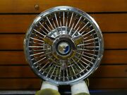 1 60s Ford Galaxie Fairlane 15 Across Center Hubcap Wire Wheel Covers Spinners