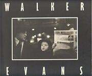 Walker Evans Subways And Streets By Sarah Greenough Excellent Condition
