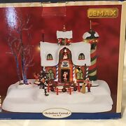 Lemax Christmas Village 2006 Reindeer Coral Sound, Motion And Lights. Brand New