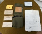 Original Vietnam U.s. Aviator First Aid Kit Complete With Contents Unissued