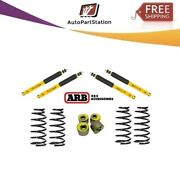 Arb For Land Cruiser Old Man Emu Front And Rear Shocks +caster Kit+ Coil Springs