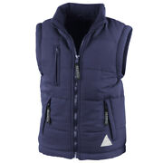 Result Childrens Unisex Ultra Padded Bodywarmer / Gilet Water Repellent And