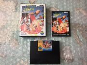 Flying Power Disc Cib W/game, Instruction Manual, Case Jpn For The Neo-geo Aes