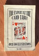 Vintage Magic Book The Expert At The Card Table By S. W. Erdnas 1902 Reprint